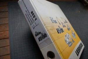 Liebherr L538 Front End Wheel Loader Parts Manual Book Catalog Pay List Index