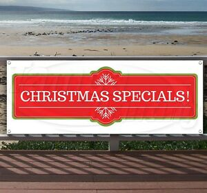 Christmas Specials Advertising Vinyl Banner Flag Sign Many Sizes Available Usa