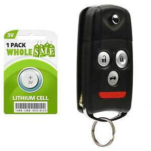 Replacement For 2009 2010 2011 2012 2013 2014 Acura Tsx Key Fob Remote