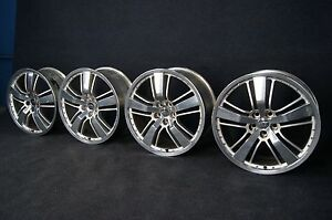 Perfect Camaro 21 Inch Wheels Oem Factory 6500 Upgrade Forged Rare