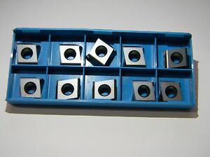 Ingersoll Carbide Milling Inserts Dpm324l050 Grade In2005 Qty 10 5812149