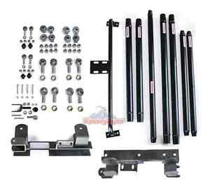 Long Arm Travel Kit Dom Jeep Wrangler Tj 1997 2006 Manual Up To 4 Lift