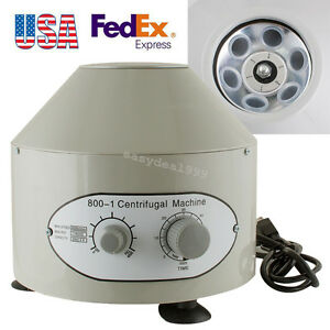 Large Capacity 800 1 Electric Centrifuge Machine 4000rpm Lab Medical Practice Us