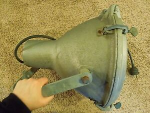 Industrial Age Crouse hinds Large Spotlight Ceiling Stage Factory Light Mve 14