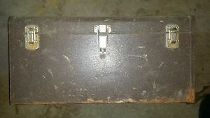 Kennedy Machinist Tool Box K 20