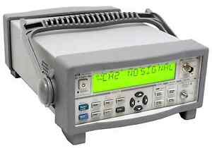 Keysight Agilent 53151a 10hz 26 5ghz Microwave Frequency Counter