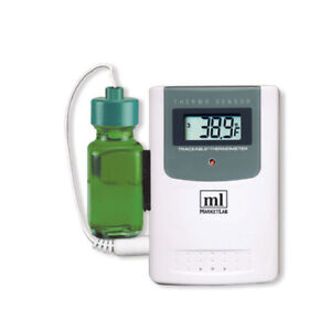 Traceable Wireless Radio signal Refrigerator Thermometer Additional Bottle P