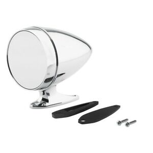 Universal Chrome Bullet Style Hotrod Muscle Car Side Mirror Ships Free