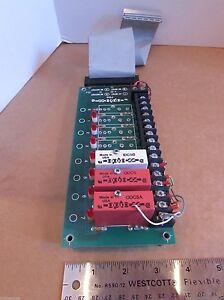 Opto 22 Relay Digital I o Board pb8 Opto 22 Relay Plc Cnc 8 Channel Ac dc
