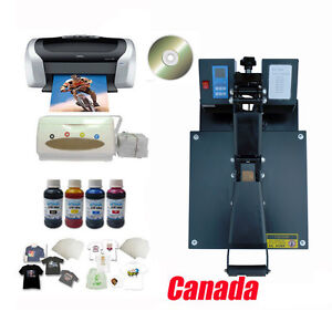 Techtonda Heat Press Epson Printer Ciss Inks Inkjet T shirt Transfer Paper