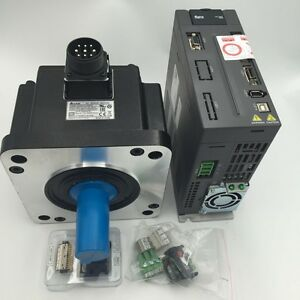 Delta 2kw A2 Keyway Servo Motor Driver Kit Ac220v With Encoder Cable Cnc Router