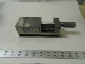 Machinist Tool Lathe Mill Precision Ground 2 1 2 Grinding Vise England