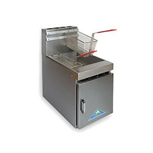 Comstock Castle 10hc 11 Countertop Tube Style Gas Fryer 60 000 Btu