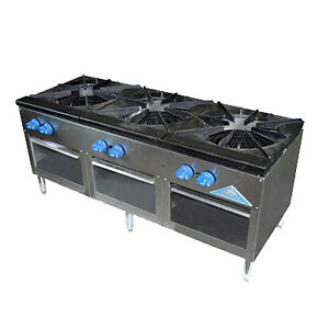 Comstock Castle Csp54 54 Stock Pot Gas Range 270 000 330 000 Btu