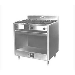 Comstock Castle Fk18 18 Gas Restaurant Range With Round Burners