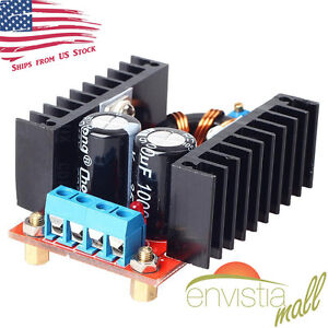 150w Dc dc Boost Converter 10 32v In To 12 35v Out 6a Step Up Voltage Charger Us