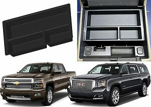 Center Console Organizer For 2015 Silverado Sierra Tahoe Suburban Yukon New
