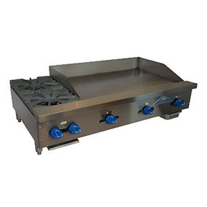 Comstock Castle Fhp48 36 48 Gas Countertop Griddle hotplate