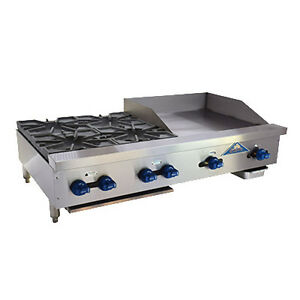 Comstock Castle Fhp48 2rb 24b 48 Charbroiler griddle overfired Cheesemelter