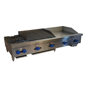 Comstock Castle Fhp60 24 2rb 60 Charbroiler griddle hotplate