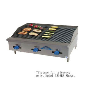 Comstock Castle 3248rb 48 Countertop Gas Charbroiler