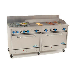 Comstock Castle 2f330 48 72 Gas Restaurant Range 48 Griddle