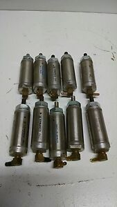 lot Of 10 Ermanco Air Pneumatic Cylinder 89000024 1 06nsr301 0 P149