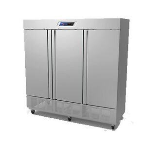 Fagor Qvr 3 Three Section Reach in Refrigerator 76 Cu Ft