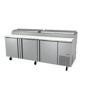 Fagor Fpt 93 93 Pizza Prep Table Refrigerated Counter