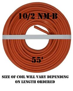 10 2 Nm b 55 romex Non metallic Jacket Copper Electrical Cable 3 Wire