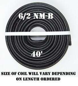 6 2 Nm b 40 romex Non metallic Jacket Copper Electrical Cable 3 Wire