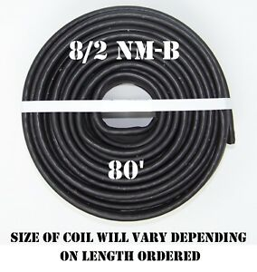 8 2 Nm b 80 romex Non metallic Jacket Copper Electrical Wire 3 Wire