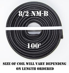 8 2 Nm b 100 romex Non metallic Jacket Copper Electrical Wire 3 Wire