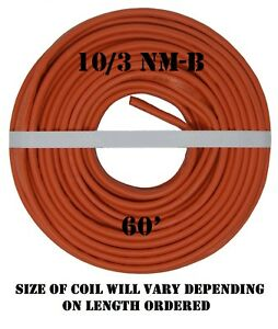 10 3 Nm b 60 romex Non metallic Jacket Copper Electrical Wire 4 Wire
