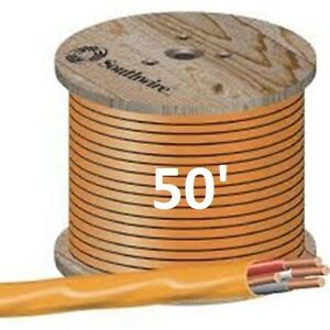10 3 Nm b 50 romex Non metallic Jacket Copper Electrical Wire 4 Wire