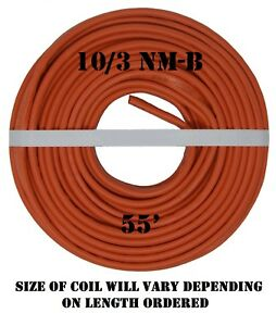10 3 Nm b 55 romex Non metallic Jacket Copper Electrical Wire 4 Wire