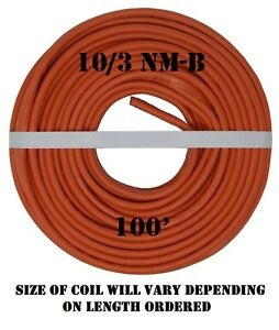 10 3 Nm b 100 romex Non metallic Jacket Copper Electrical Wire 4 Wire
