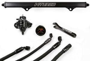 K tuned K swap Oem Fuel Line Kit W fuel Rail Fpr Guage Wrenches Acura Flk of blk