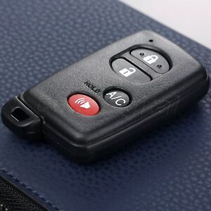 4 Buttons Car Remote Key Shell Case Fob Uncut Blade For Toyota Hyq14aab