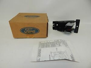 New Oem 92 94 Ford Explorer Rear Seatbelt Seat Belt Buckle End Left Hand Side