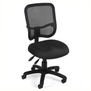 Ofm Mesh Comfort Series Ergonomic Task Office Chair In Black
