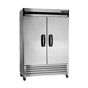 Norlake Nlf49 s Two Section Advantedge Reach in Freezer