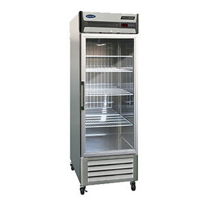 Norlake Nlr23 g One Section Advantedge Reach in Refrigerator With Glass Door