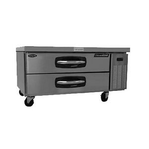 Nor lake Nlcb48 48 Refrigerated Base Equipment Stand 2 Drawers