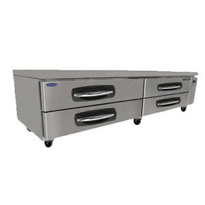 Nor lake Nlcb96 96 Refrigerated Base Equipment Stand 4 Drawers