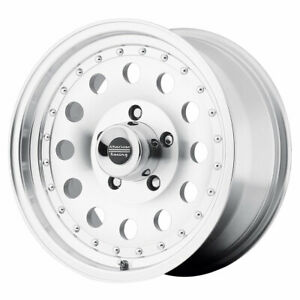 American Racing Ar62 Outlaw Ii Rim 16x8 5x4 5 Offset 0 Mach clearcoat qty Of 1