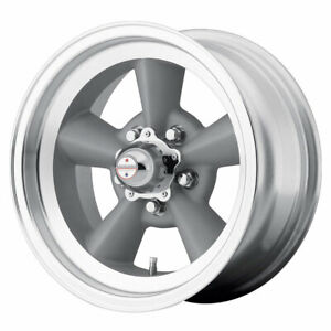 American Racing Vn309 Torqthrust 15x7 5x114 30 Et 6 Silver machined qty Of 1