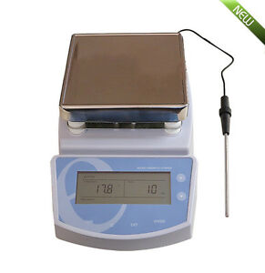 Ups Heating Hot Plate Magnetic Stirrer Mixer Heater Chemical Laboratory 0 300 c