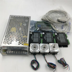 3axis Nema17 Cnc Stepper Motor Driver Kit 40oz in Cnc Milling Laser Xyz Axis Set