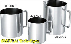 Sanitary Beaker 2000ml For Hospital Bk sma 2 Nitto Kinzoku Made In Japan